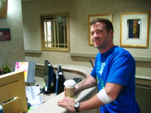Checking in to Neurology at Mayo Clinic